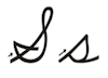 Learn to write cursive letter S s