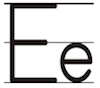 Learn to write printed letter E e