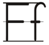 Learn to write printed letter F f