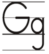 Learn to write printed letter G g
