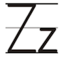 Learn to write printed letter Z z